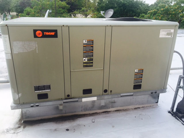 Trane Commercial Rooftop Installation